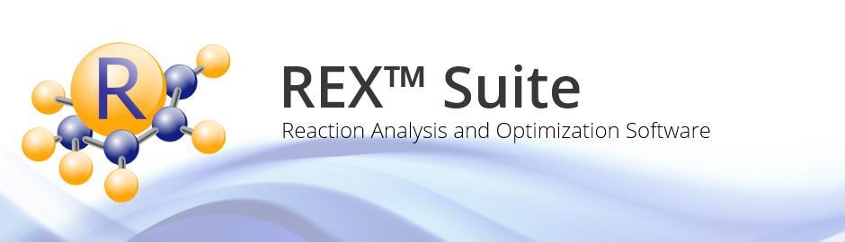 REX Suite is a Kinetic Estimation Software