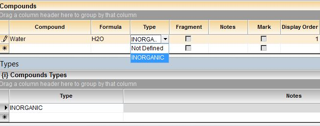 Example - Adding a Compound